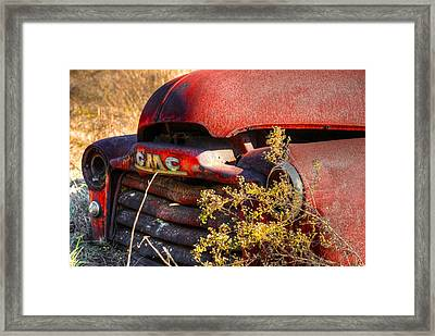 Old Truck 04 Framed Print by Andy Savelle