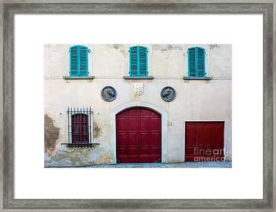 Old Villa Stables Framed Print by Prints of Italy