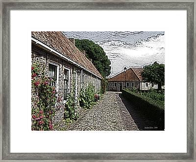 Old Village Framed Print by Stefan Kuhn