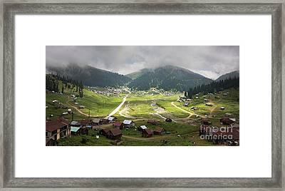 Old Village Framed Print by Svetlana Sewell