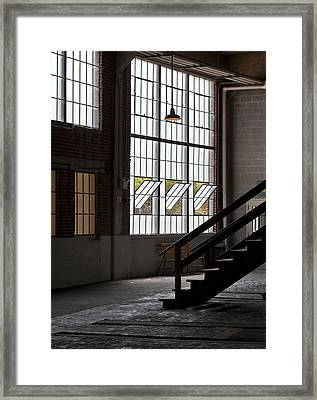 Old Warehouse Framed Print by Wilma  Birdwell