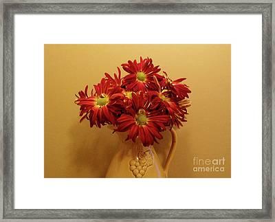 Old World Bouquet Framed Print by Marsha Heiken