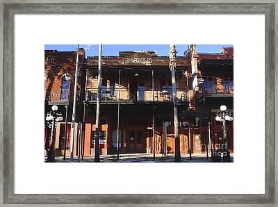 Old Ybor Framed Print by David Lee Thompson