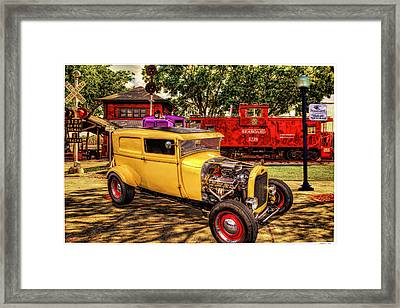 Old Yellow II Framed Print by Rogermike Wilson