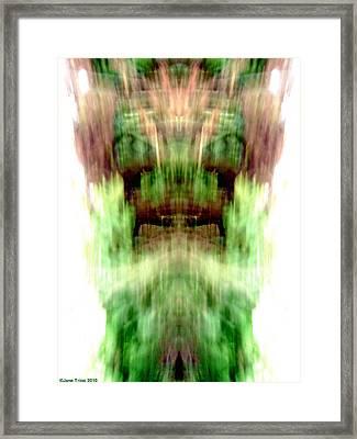 Older Gods Framed Print by Jane Tripp