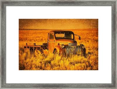 Oldtimer Framed Print by Mark Kiver