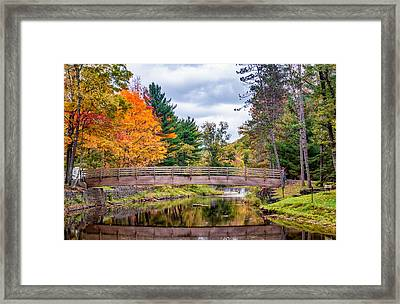 Ole Bull State Park - Pennsylvania Framed Print by Steve Harrington