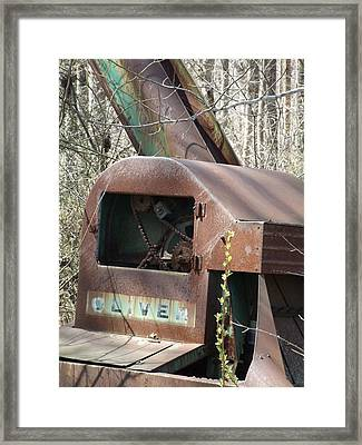 Oliver Corn Picker Antique Farm Machinery II Framed Print by Cody Cookston
