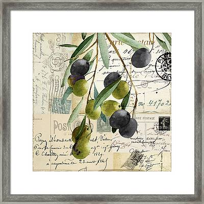 Olivia II Framed Print by Mindy Sommers