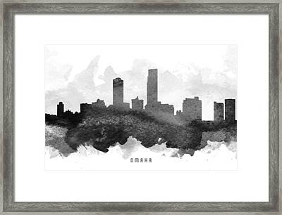 Omaha Cityscape 11 Framed Print by Aged Pixel