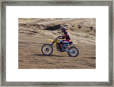 Omc Vintage 2015 -17 Framed Print by Brian McCullough