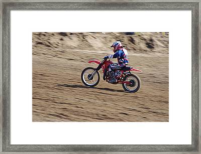 Omc Vintage 2015 -18 Framed Print by Brian McCullough