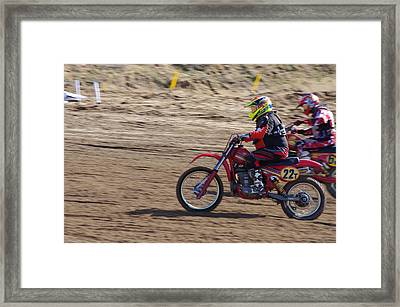 Omc Vintage 2015 -19 Framed Print by Brian McCullough