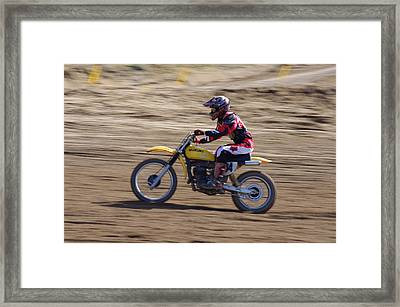 Omc Vintage 2015 -21 Framed Print by Brian McCullough