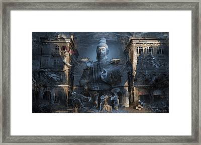 Omnipresence Framed Print by George Grie