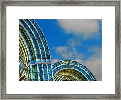 On A Blue Day Framed Print by Wendy J St Christopher