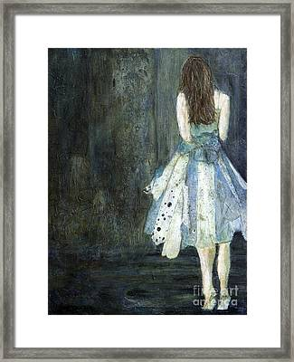 On Her Toes Framed Print by Barb Pearson