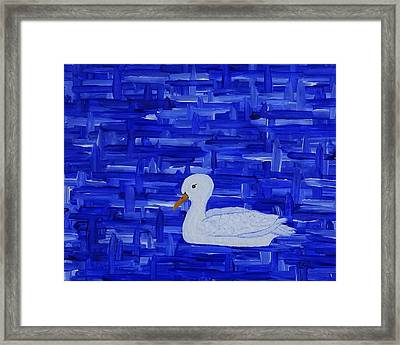 On His Way II Framed Print by Manuel Sueess
