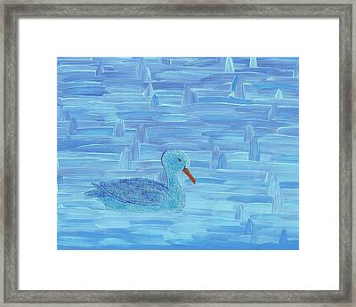On His Way IIi Framed Print by Manuel Sueess