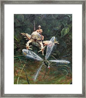 On Patrol Framed Print by Gary Symington