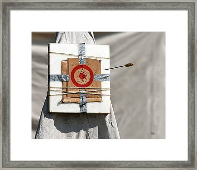 On Target Framed Print by Christopher Holmes