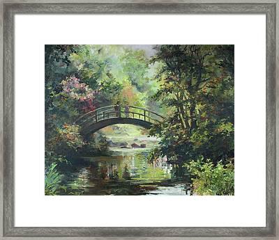 On The Bridge Framed Print by Tigran Ghulyan