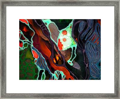 On The Edge #2 Framed Print by Angela McKenzie