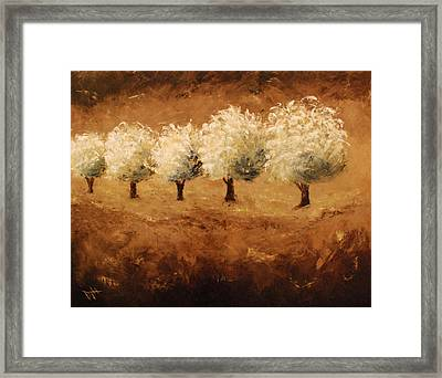 On The Edge Framed Print by Debra Houston