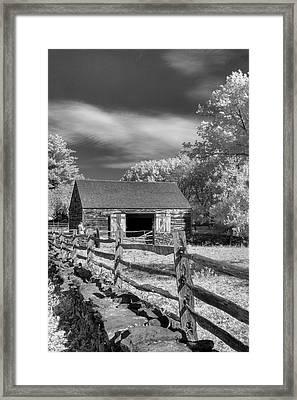 On The Farm Framed Print by Joann Vitali