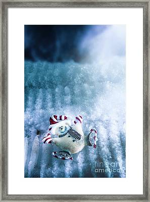 On The Ice Framed Print by Jorgo Photography - Wall Art Gallery