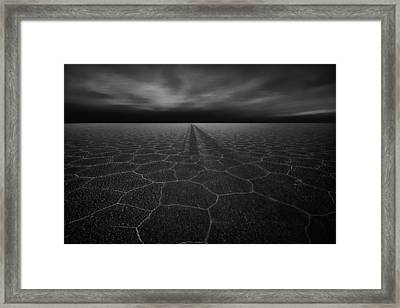 On The Road To Nowhere Framed Print by Stefan Schilbe