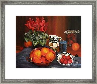 On The Sideboard Framed Print by Beatrice Cloake