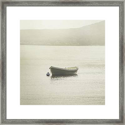 On The Water Framed Print by Az Jackson