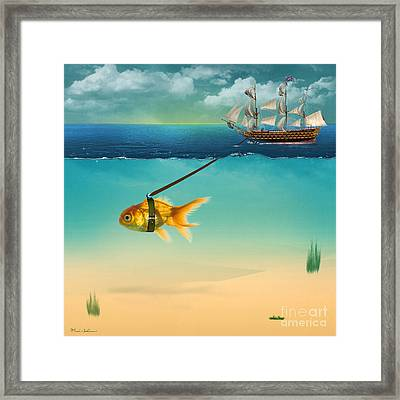 On The Way  Framed Print by Mark Ashkenazi