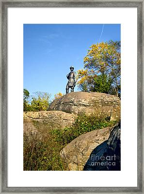 On Top Of Little Roundtop Framed Print by Paul W Faust - Impressions of Light