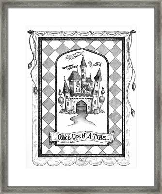 Once Upon A Time Framed Print by Adam Zebediah Joseph