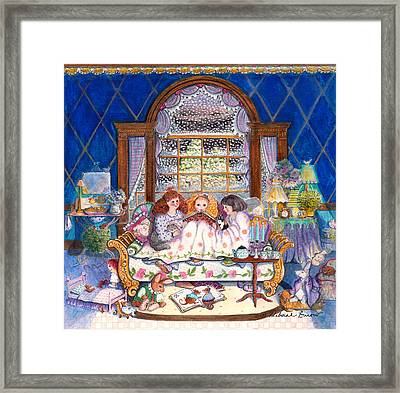 Once Upon A Time... Framed Print by Deborah Burow