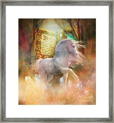 Once Upon A Time Framed Print by Shanina Conway