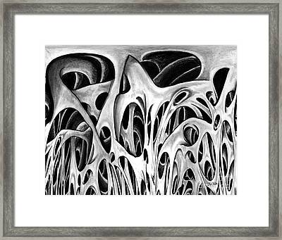 One Big Mistake 3  Framed Print by Peter Piatt