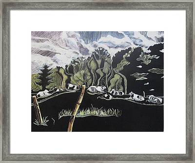 One Fine Day Framed Print by Grace Keown