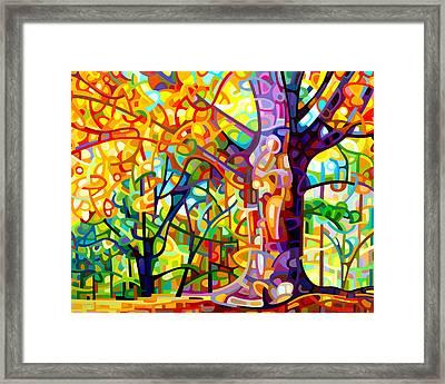 One Fine Day Framed Print by Mandy Budan