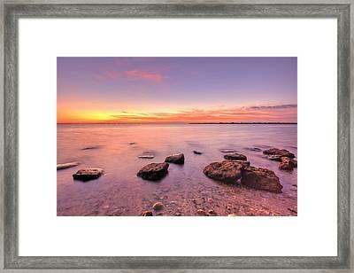 One Fine Morning Framed Print by Evelina Kremsdorf