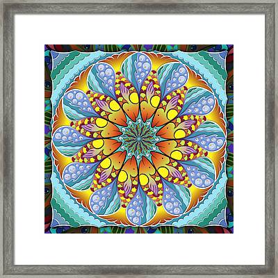 One Fish Framed Print by Becky Titus