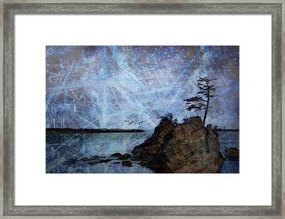 One Grace Framed Print by Carol Leigh