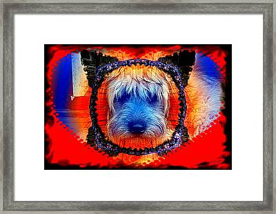 One Little Indian Framed Print by Robert Orinski