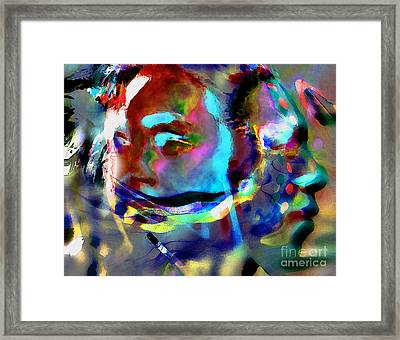 One Love Framed Print by Terril Heilman