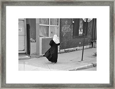 One Moment Framed Print by Reb Frost