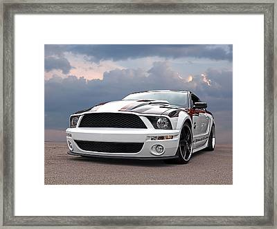 One Of A Kind Mustang Framed Print by Gill Billington