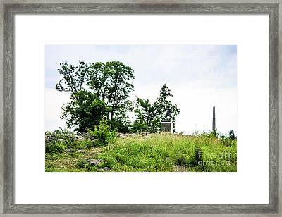 One Of The Lines Framed Print by William Rogers