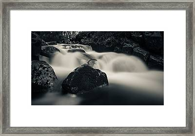 one of these little streams in the Harz Framed Print by Andreas Levi